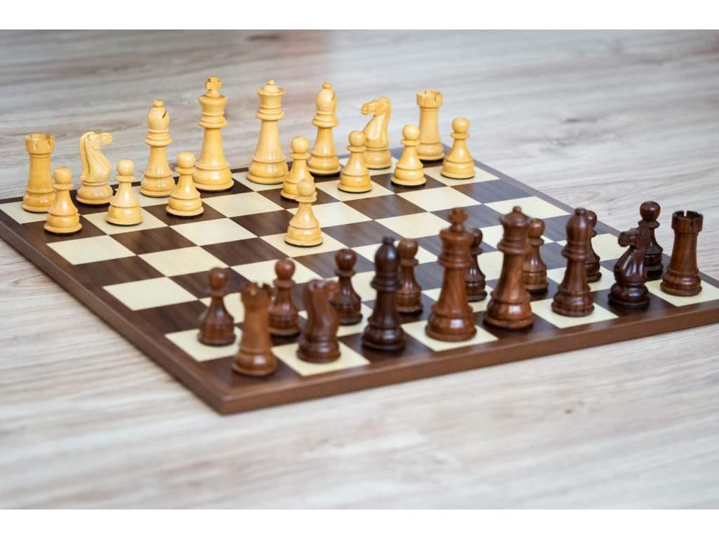 Šachová súprava Staunton kráľovská  + doprava zdarma + darček