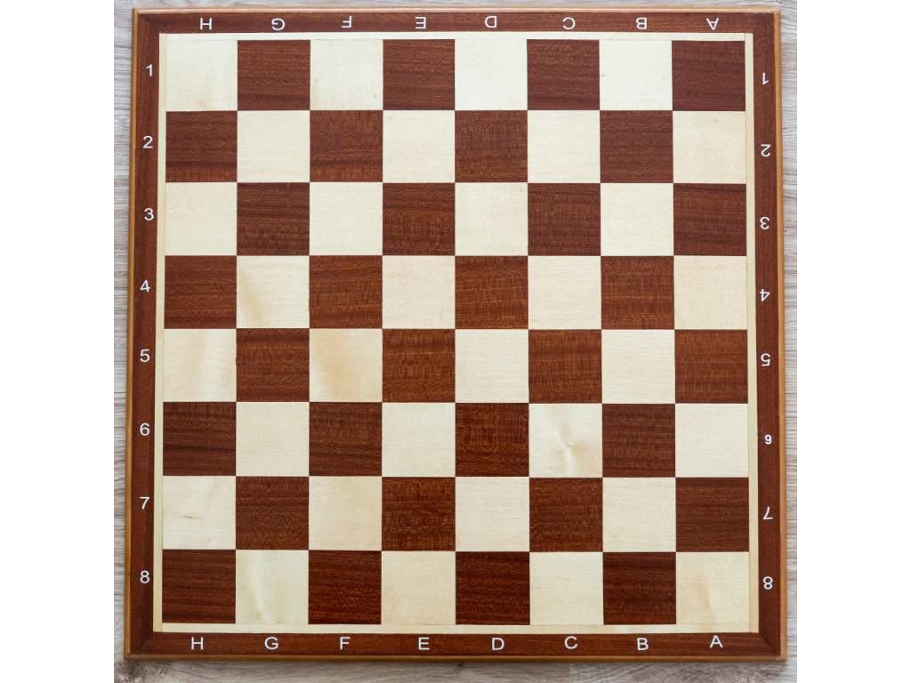 Drevená šachovnica Caissa extra veľká  + doprava zdarma