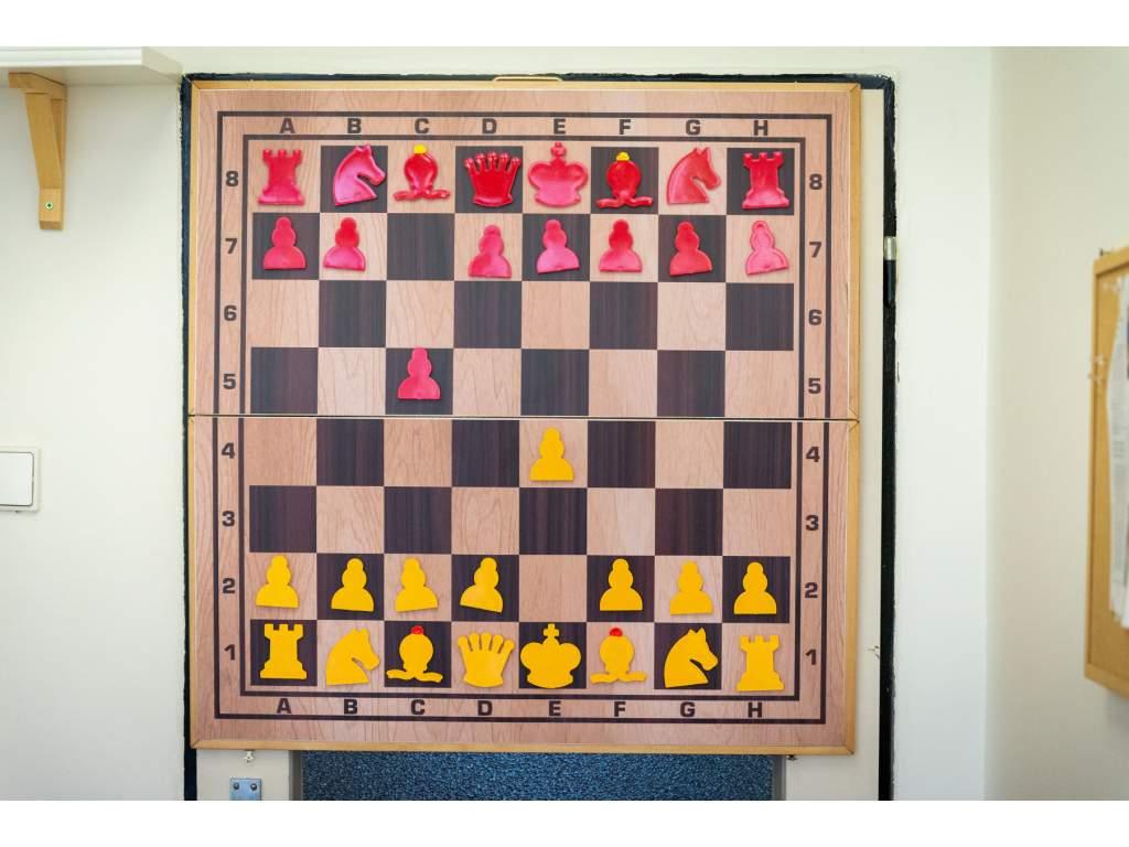 Skladacia magnetická šachovnica hnedá  + doprava zdarma
