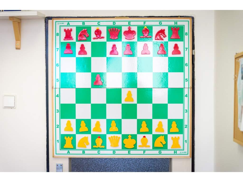 Skladacia magnetická šachovnica zelená  + doprava zdarma