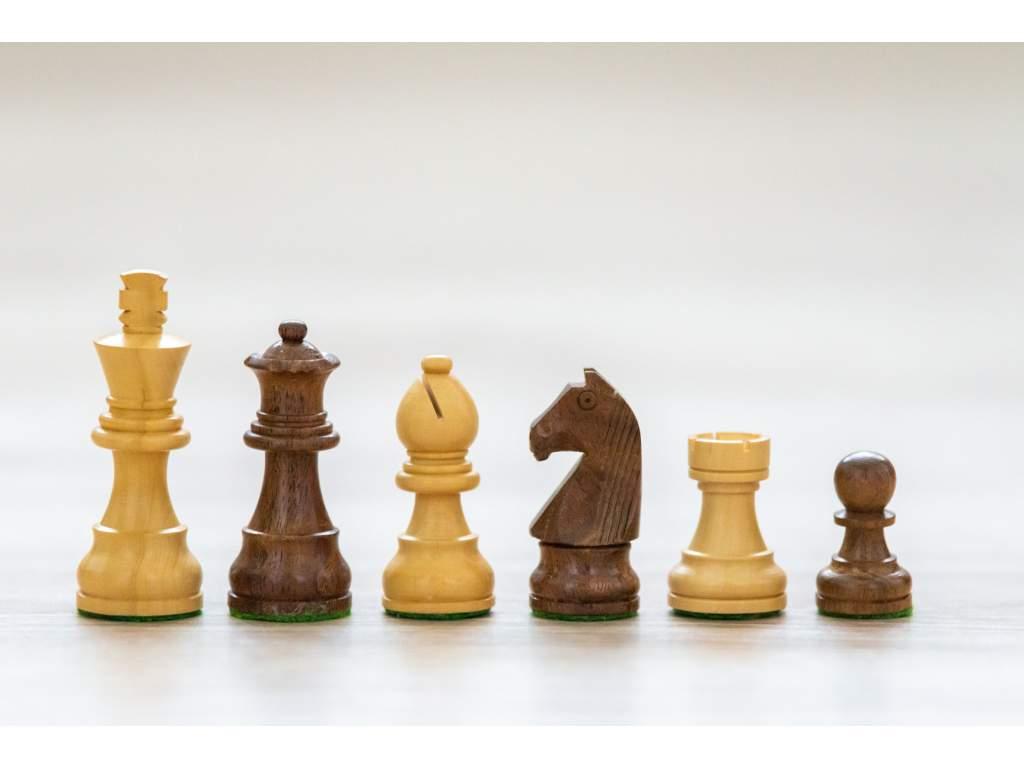 Šachové figúrky Palisander klasik  + doprava zdarma