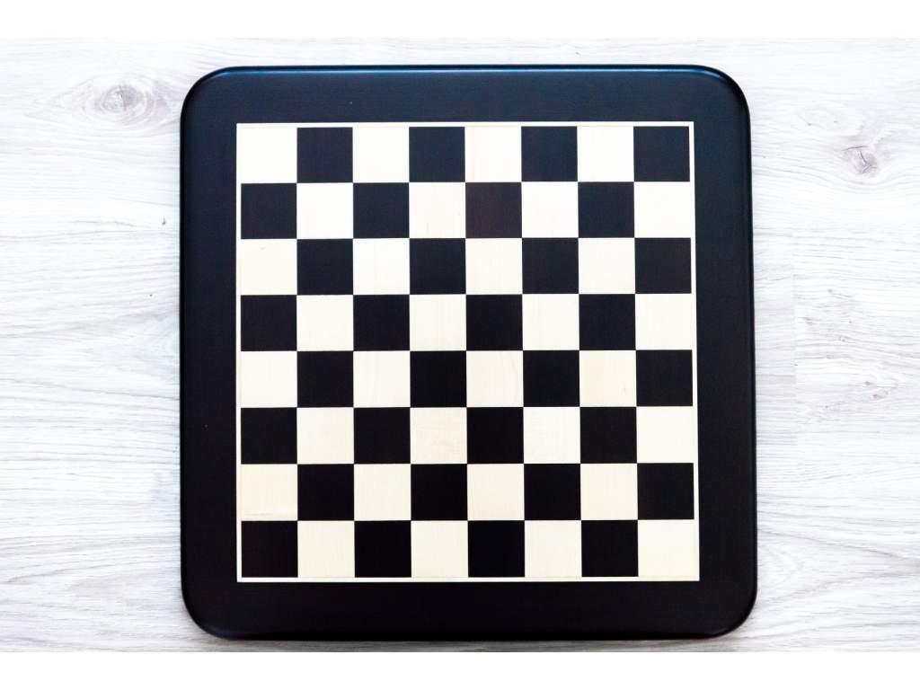 Drevená šachovnica čierna perla  + doprava zdarma