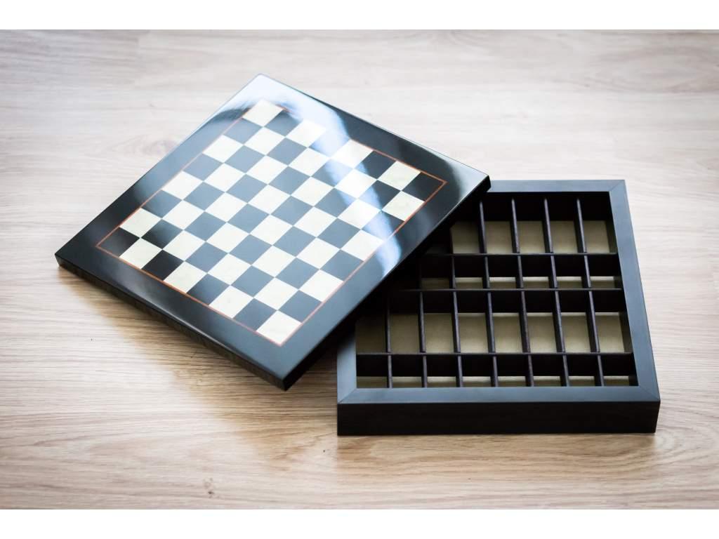 Drevená šachovnica Briar box  + doprava zdarma