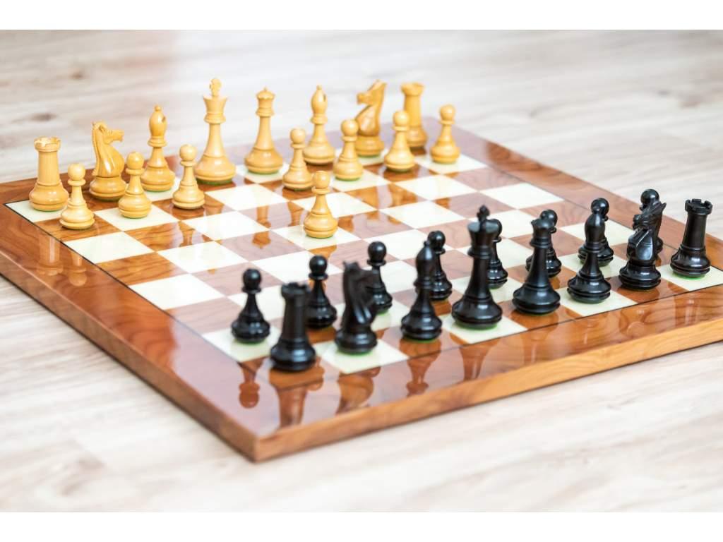 Šachová súprava Ebony briar  + doprava zdarma