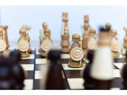 Drevené šachy