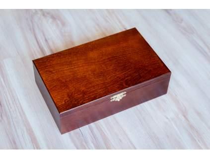 2687 dreveny box na sachove figurky maxi