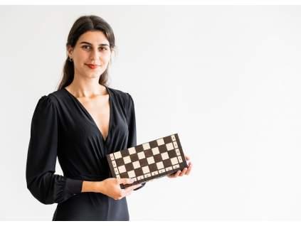 Drevené šachy Rosa  + doprava zdarma