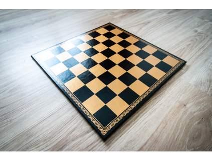 Koženková šachovnica  + doprava zdarma
