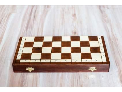 Magnetické drevené šachy ozdobné  + doprava zdarma