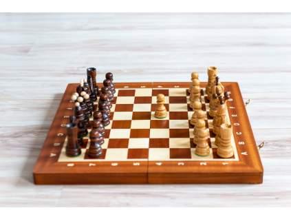 Drevené šachy Perla  + doprava zdarma