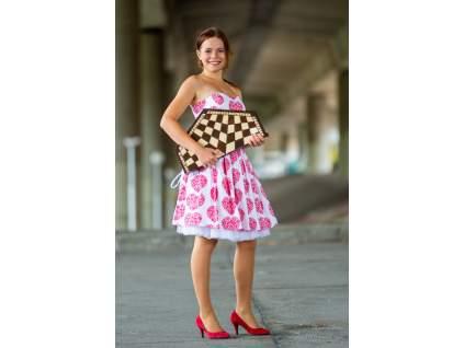 drevená šachová súprava pre troch, atypická skladacia šachovnica s úložným priestorom pre figúrky, javorové drevo