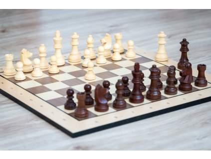 Drevené šachy staunton  + doprava zdarma + darček
