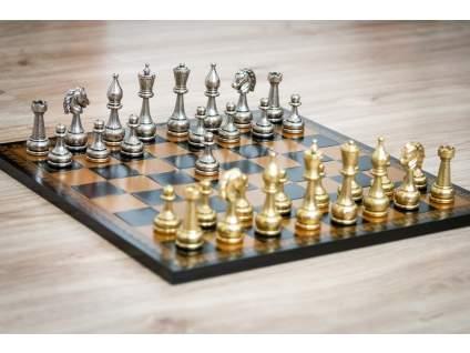 Šachová súprava Gold monarch veľká  + doprava zdarma + darček