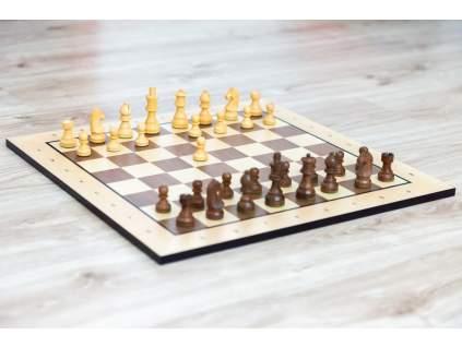 Drevené šachy palisander klasik  + doprava zdarma