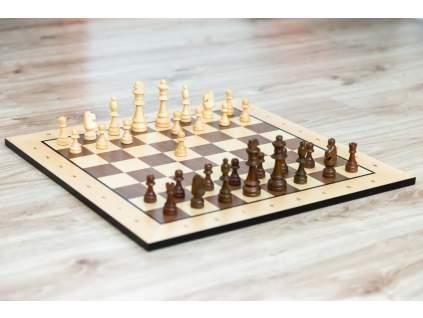 Drevené šachy klasik s krabičkou  + doprava zdarma