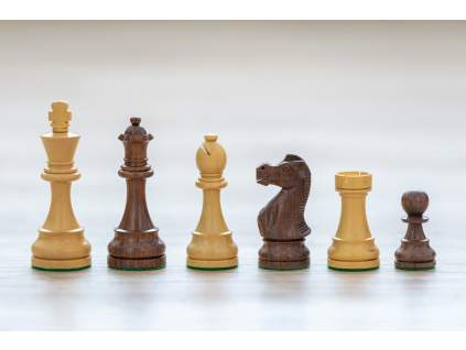 Šachové figúrky Zlatý palisander klasik  + doprava zdarma