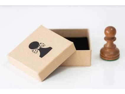 Šachová krabička pešiak