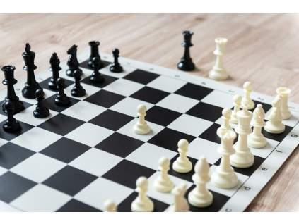 Šachová súprava komplet veľká (Farba šachovnice Hnedo-biela)