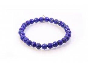 Minerální náramek lapis lazuli 6mm Sadré