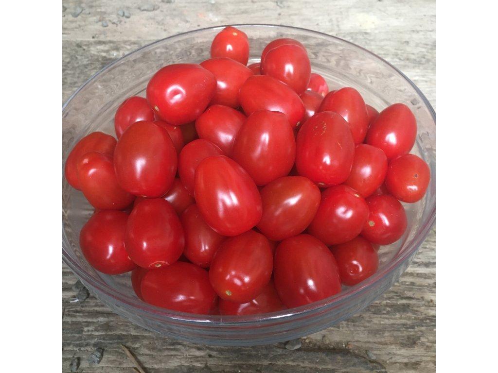 Rajčata cherry Hranáček červená