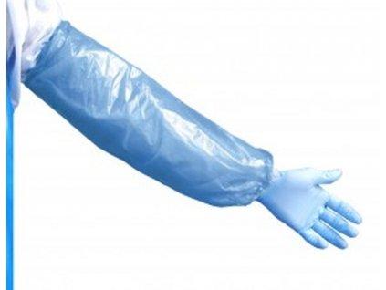 Ochranný rukávnik na predlaktie - ručne vyrobený