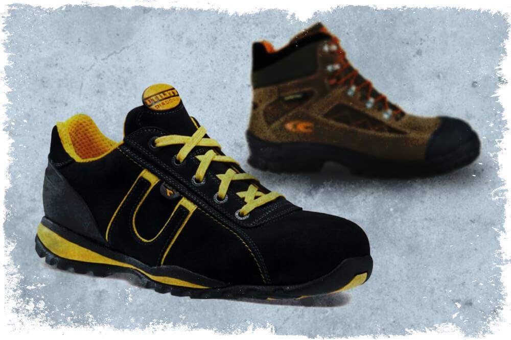 Pracovní obuv se sportovním designem