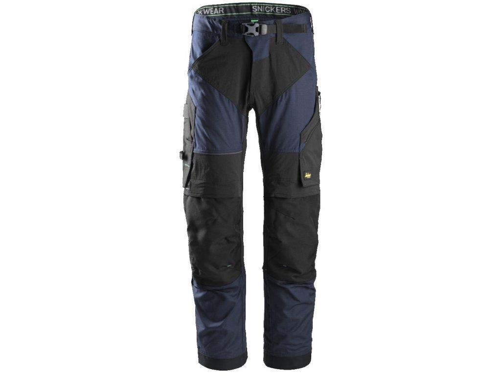 Kalhoty FlexiWork+ tm. modré