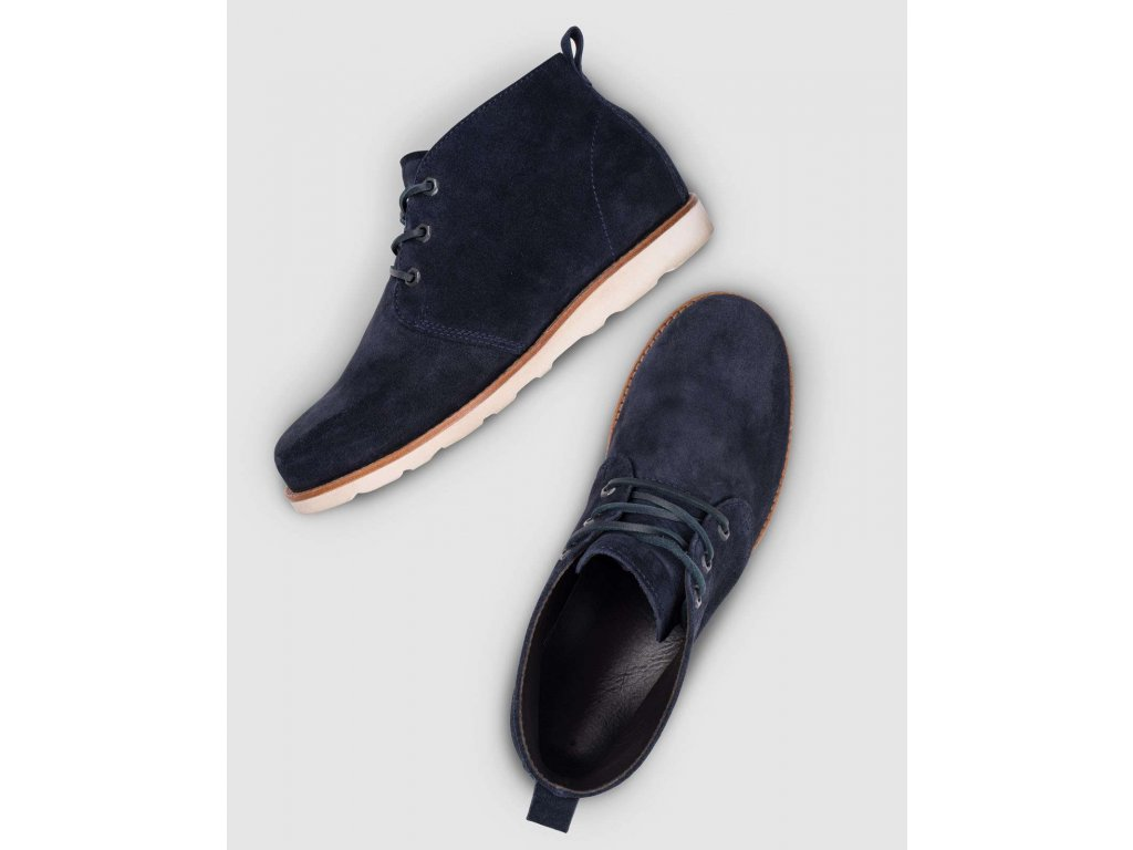 Pracovní obuv F6 Chukka tmavě modrá