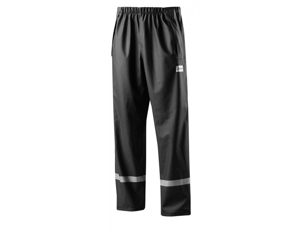 Kalhoty do deště PU černé
