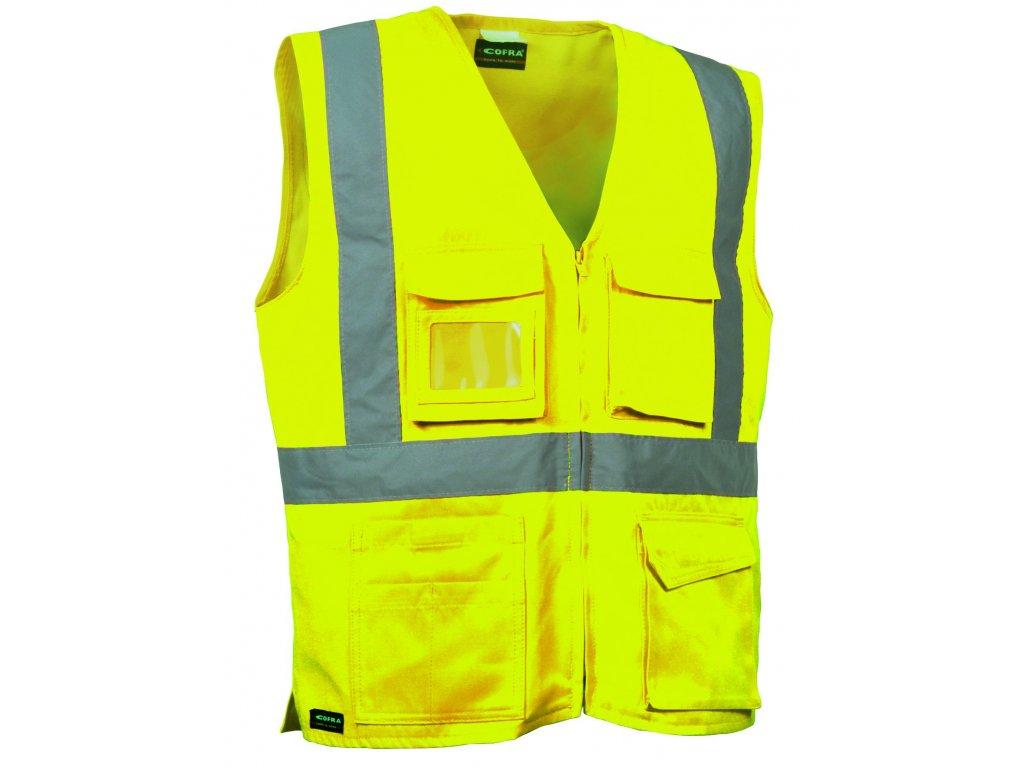 Reflexní pracovní vesta COFRA SEKI 245 g/m2