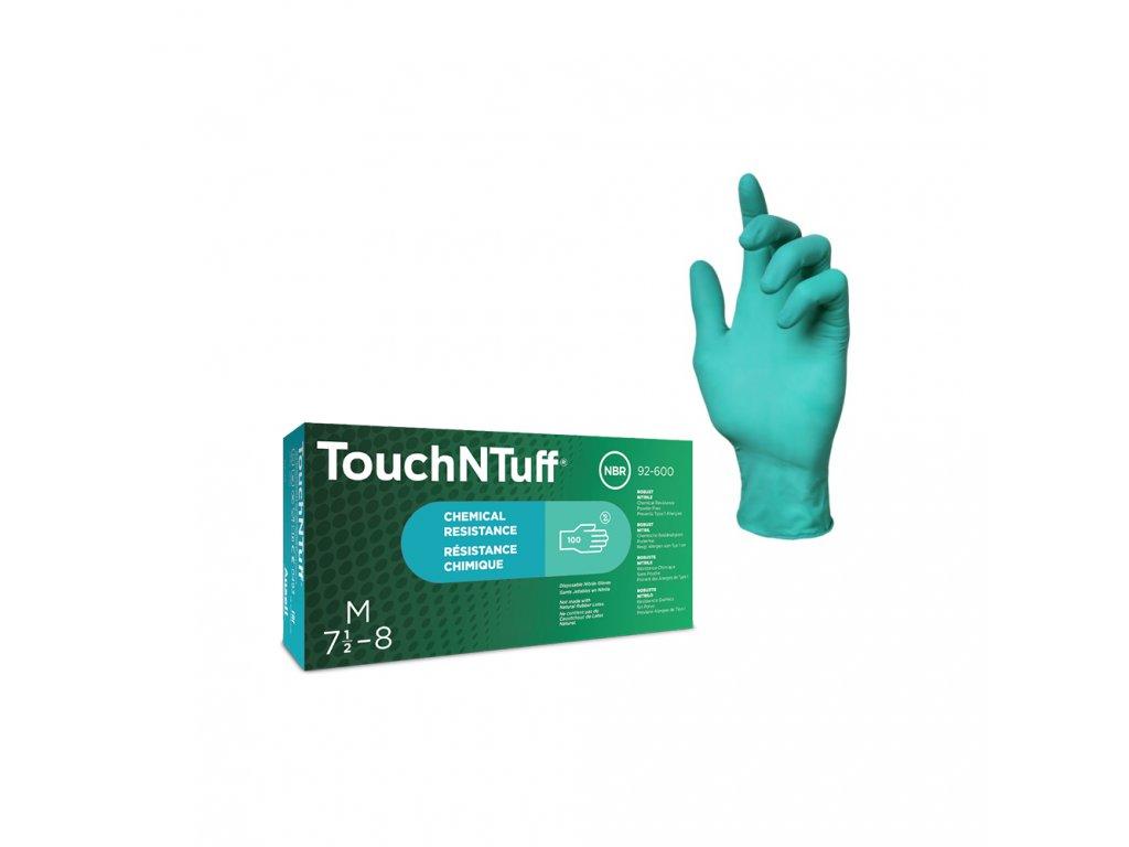 anselAnsell touchntuff 92 600 nitrilove rukavice nepudrovane