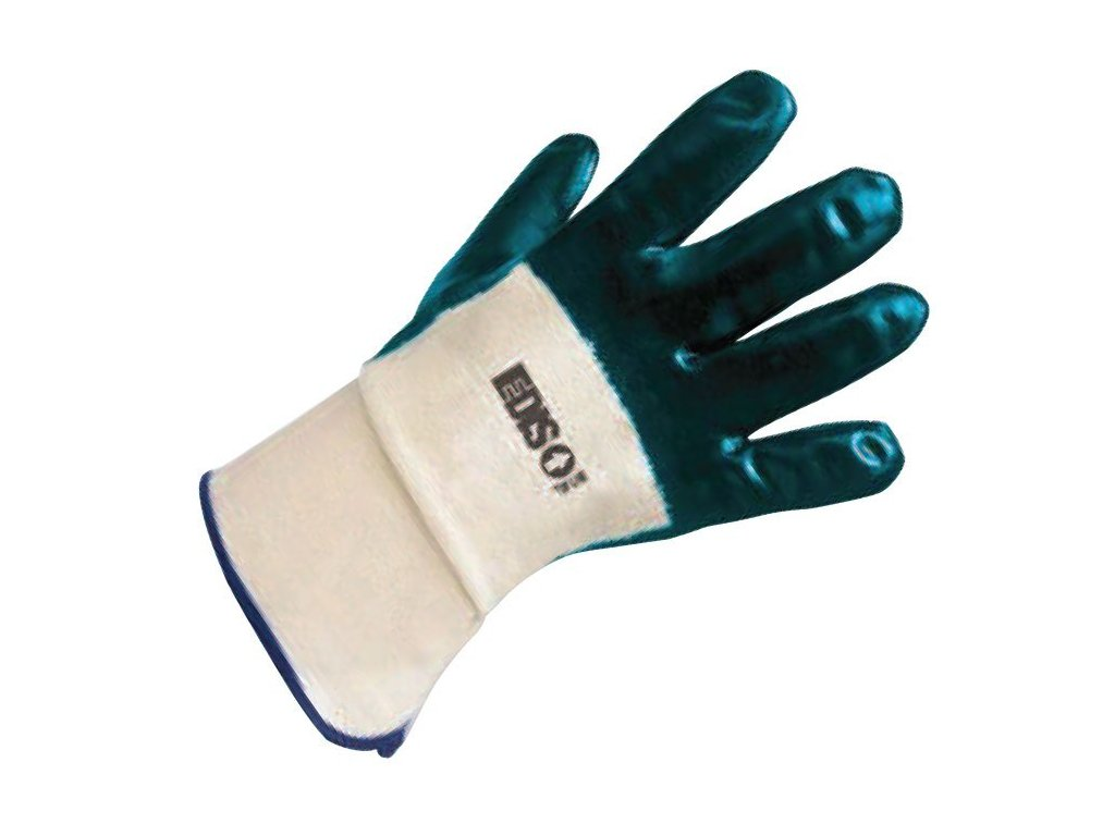 Pracovní rukavice EDIS TOP LINE nitrile ETL 13.02