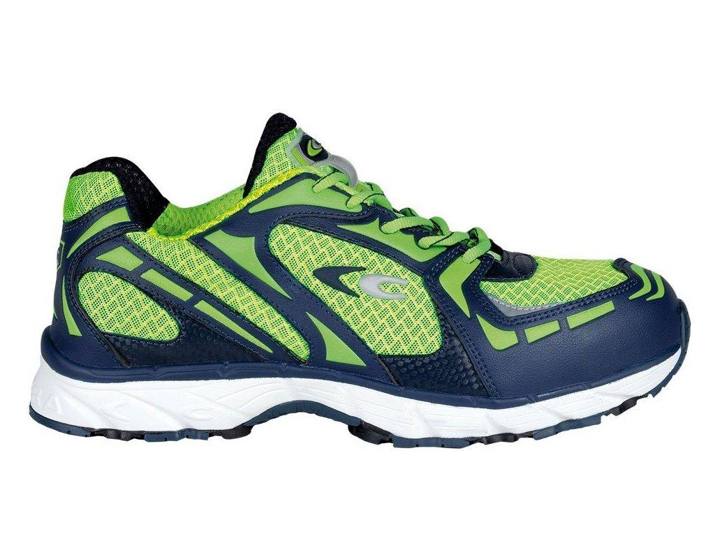 Pracovní obuv Cofra New Matrix Lime S1P SRC