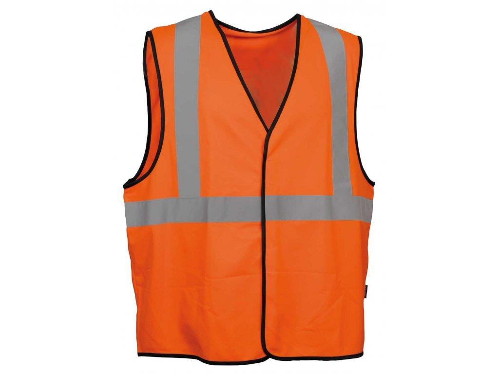 Reflexní pracovní vesta COFRA BEAMING 120 g/m2