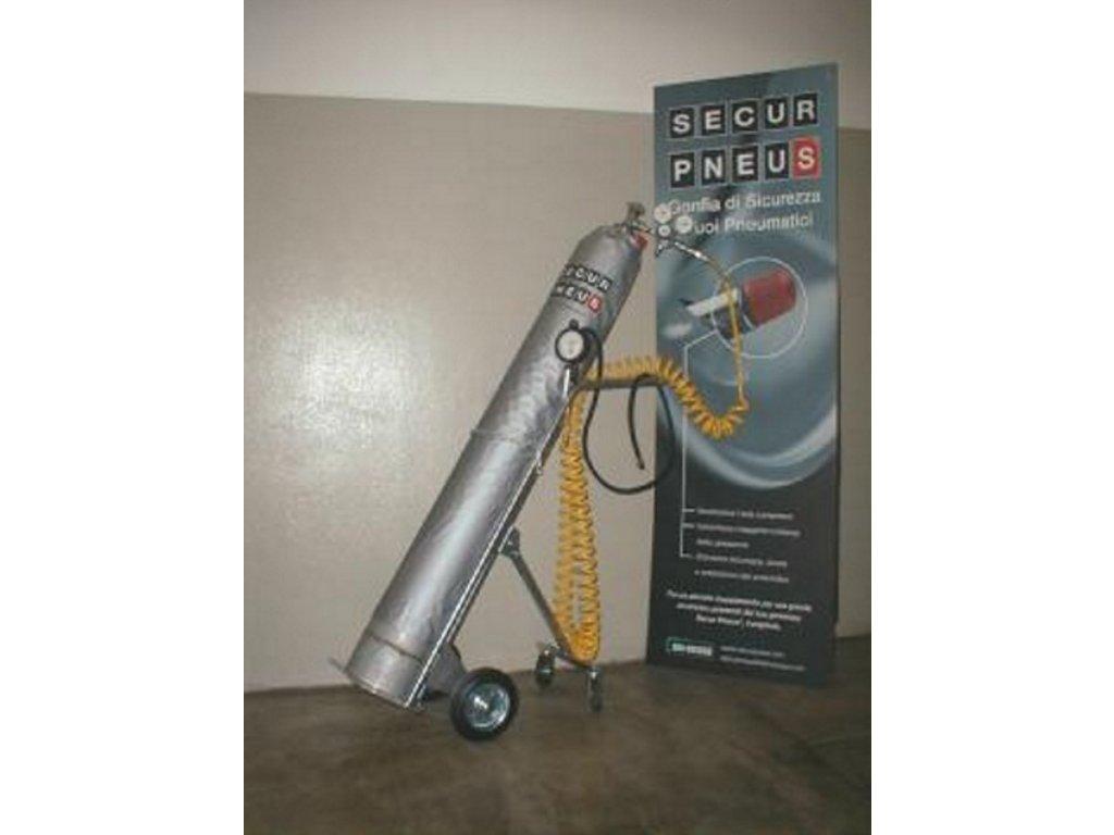 AL vozík na tlakové lahve Secur_Pneus