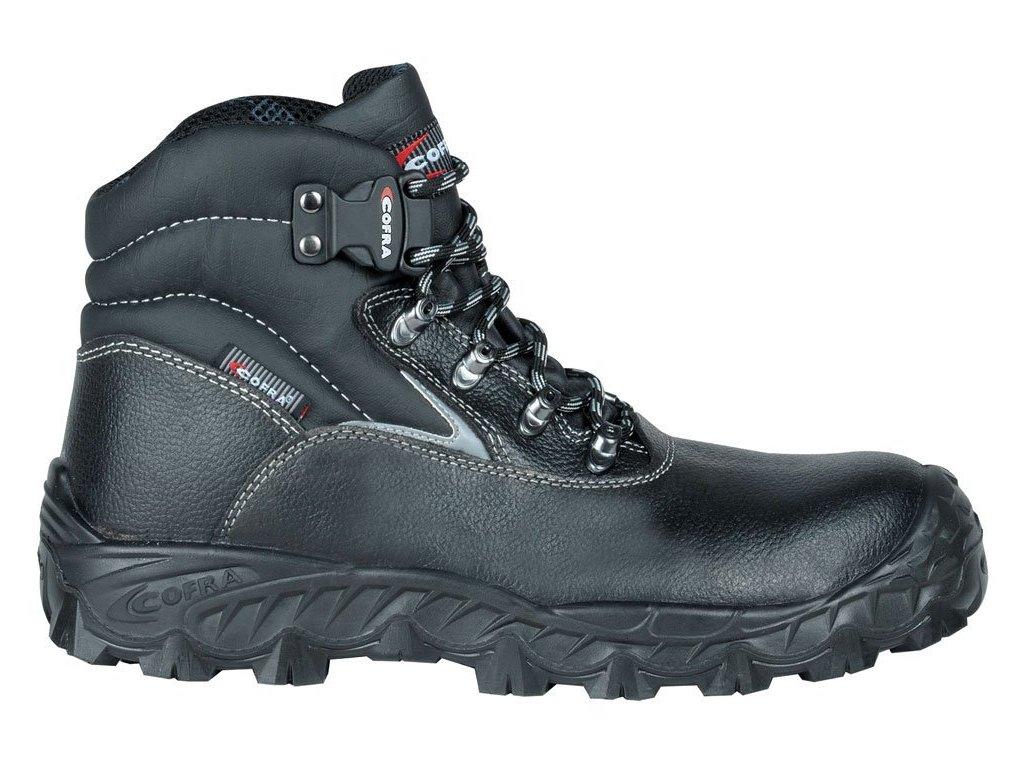 Vysoká pracovní obuv COFRA New Black SEA S3 SRC