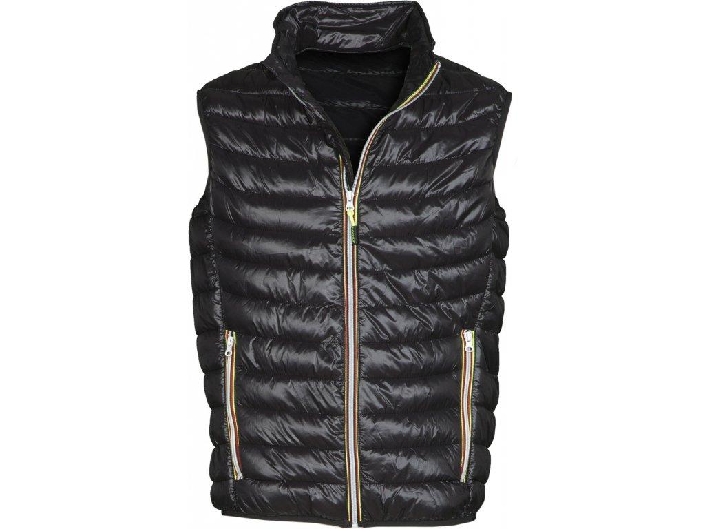 Pánská vesta s nylonovým zipem REPLY
