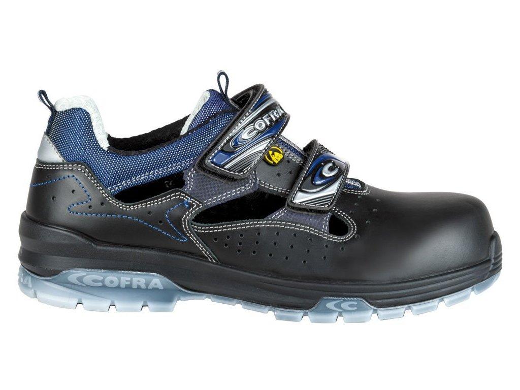 Pracovní obuv Cofra Jungle Black S1P ESD SRC