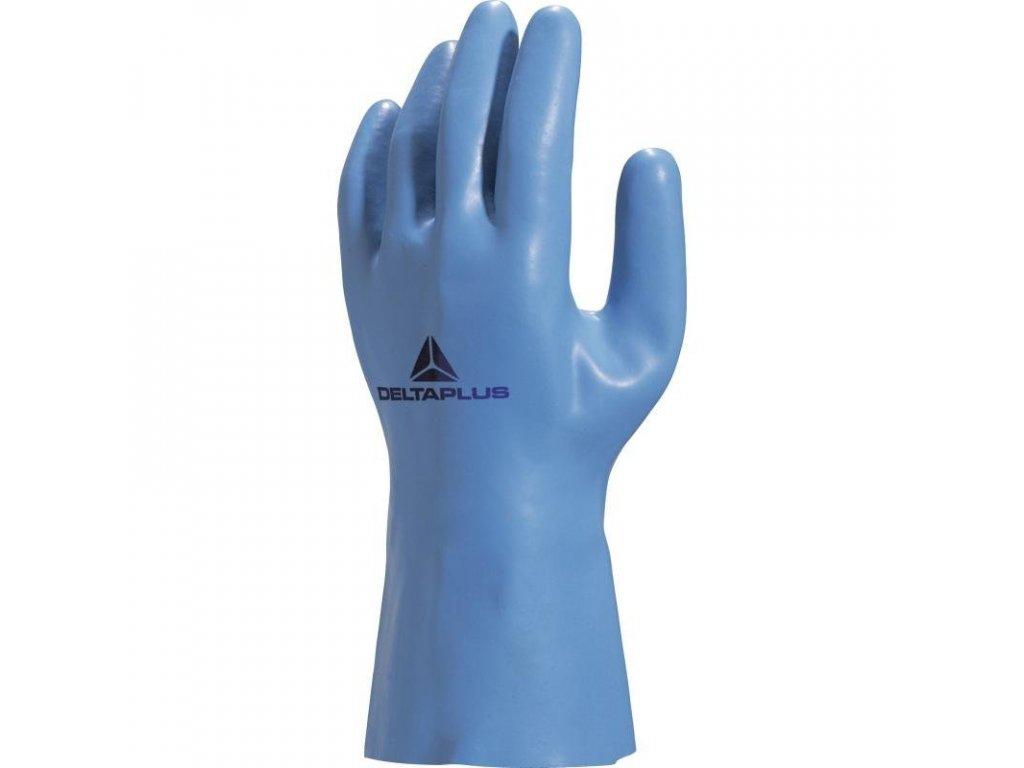 Latexové rukavice na úpletovém bavlněném podkladu VENIZETTE  VE920