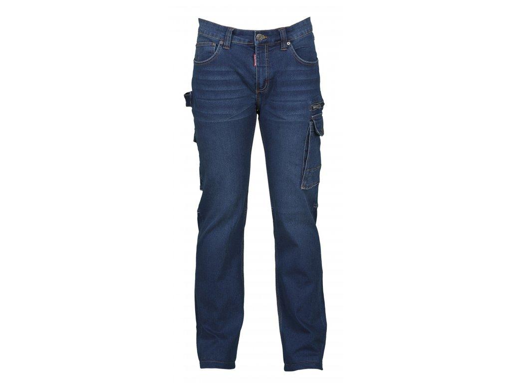 Pánské džíny WEST  10,5 OZ (Farba Modrá denim, Veľkosť 60-62)
