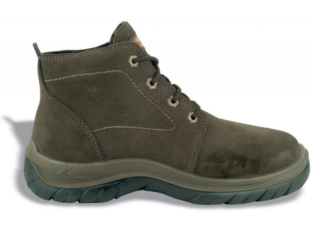 Vysoká pracovní obuv COFRA IBIZA BROWN S3 SRC