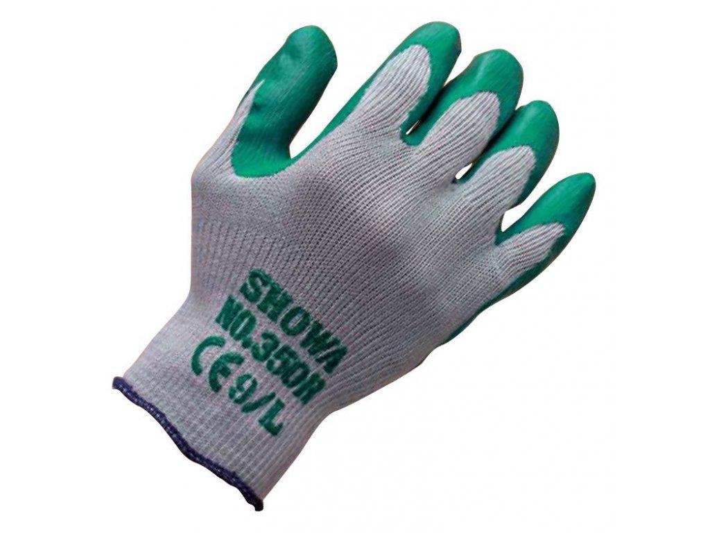 Pracovní rukavice Showa Supergrip Nitril 350R - komfort a dobrá manipulovatelnost