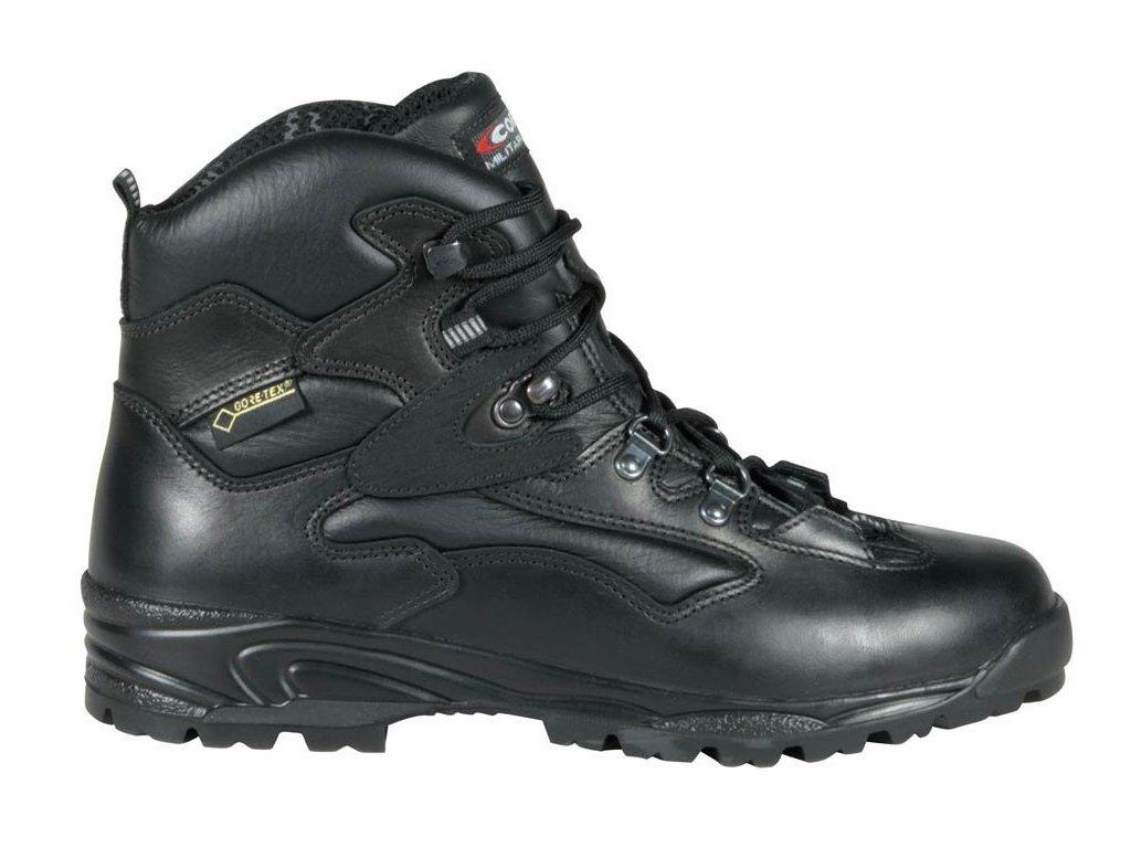 Vysoká pracovní obuv COFRA FLATPOINT BLACK