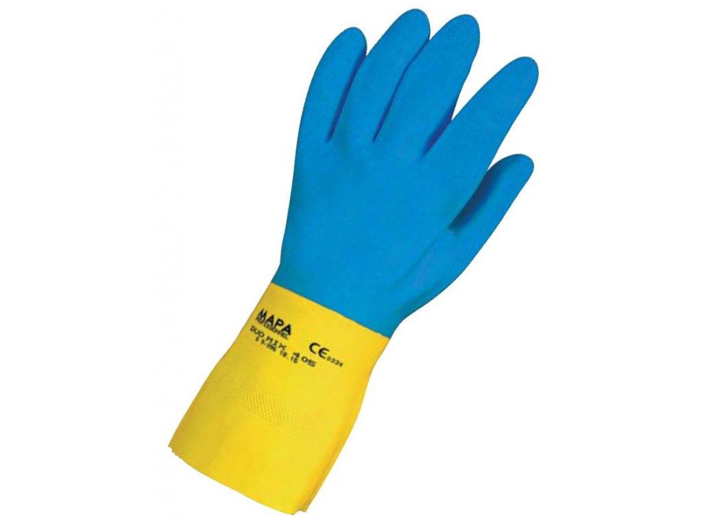 Pracovní rukavice Mapa Professionnel Duo-Mix 405 - pracovní rukavice ze směsi latexu a neoprénu
