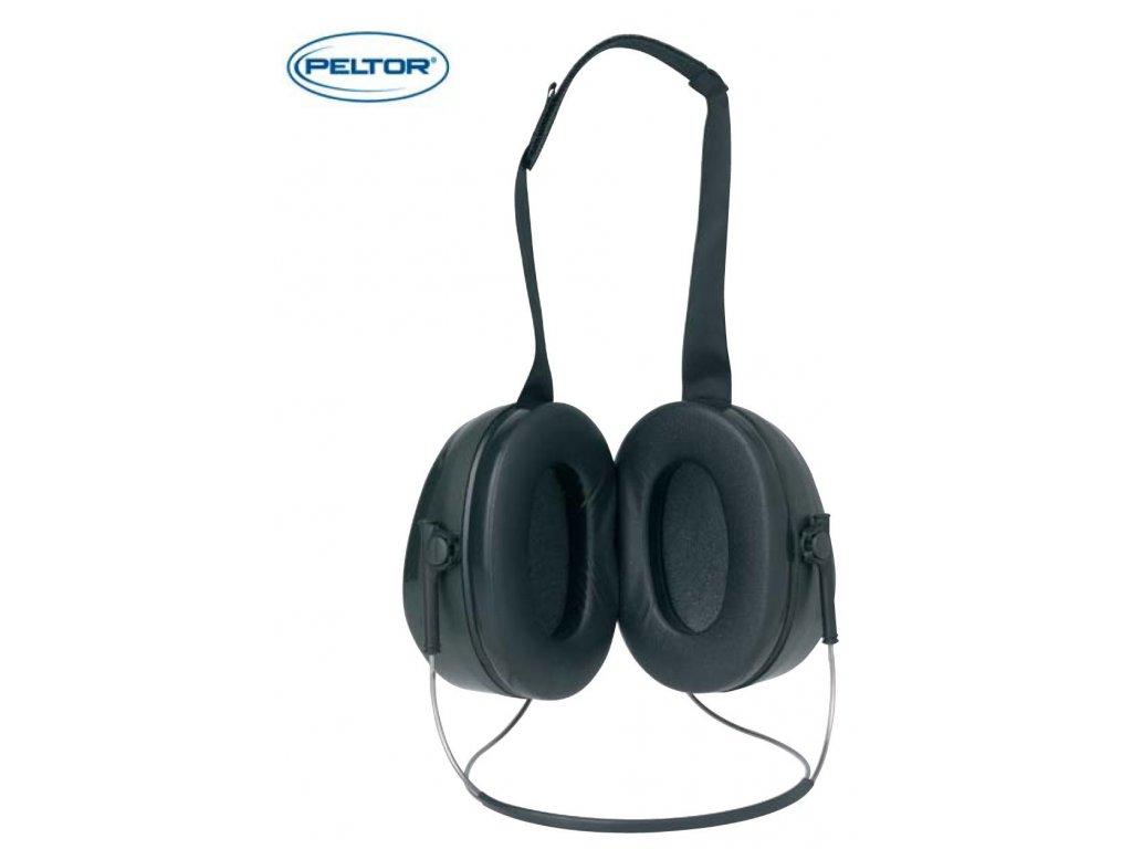 Ochranná sluchátka PELTOR - ochranná sluchátka OPTIME 2 H520B  úchytový oblouk na zátylku