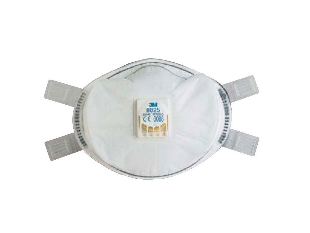 Respirátor 3M 8825D - ochrana proti toxickým prachům a mlhám