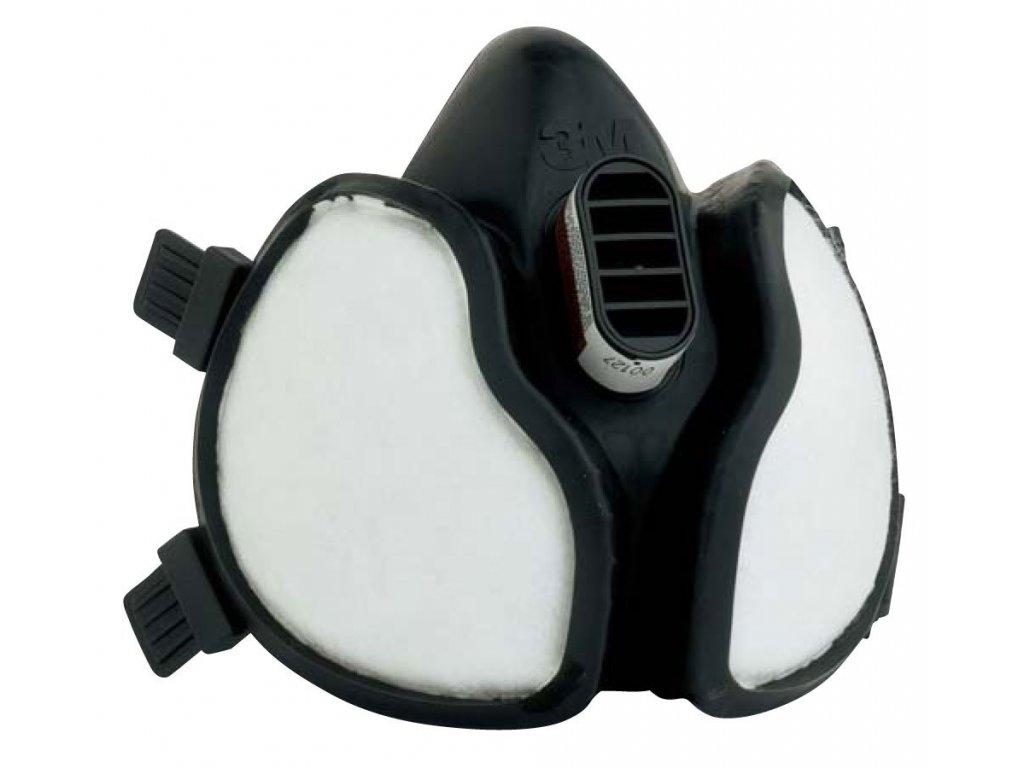 POLOMASKA 3M 4251 A1P2 - polomaska z hypoalergenního materiálu se zabudovanými filtry