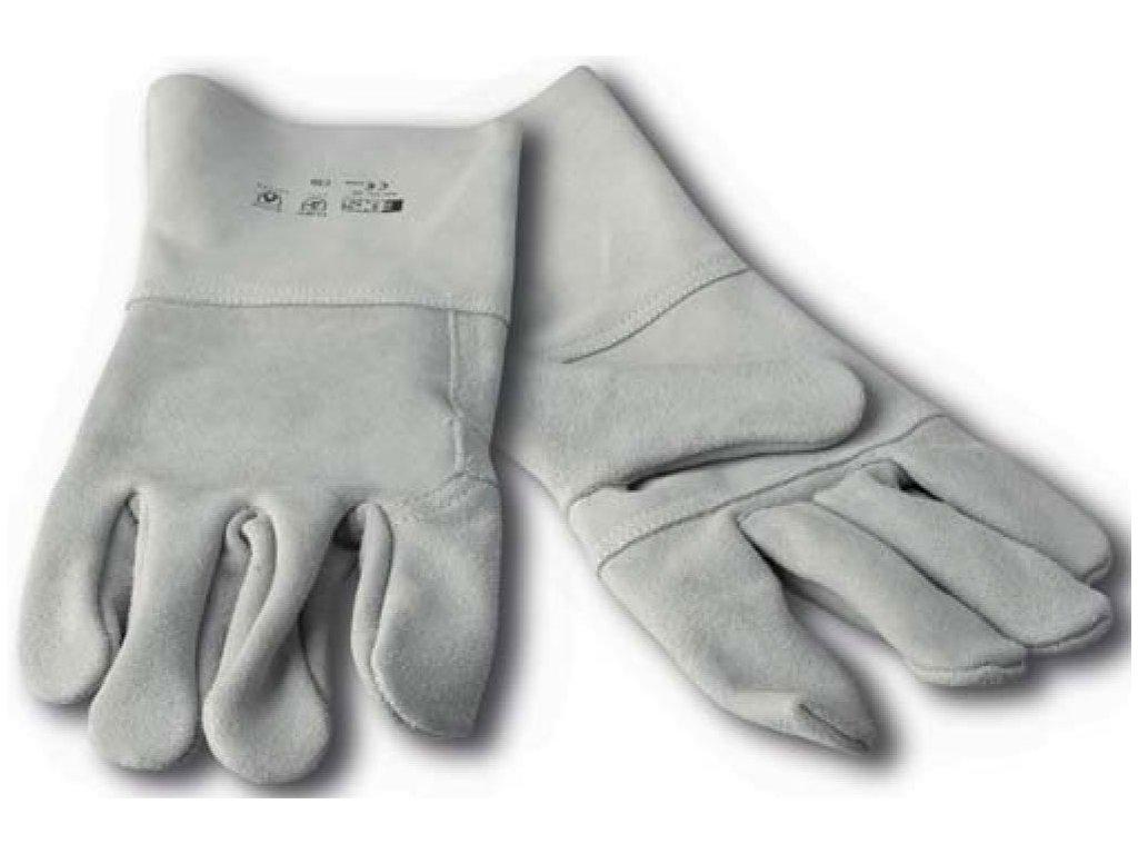Svářečské rukavice EDIS COSTRA - Délka 7cm