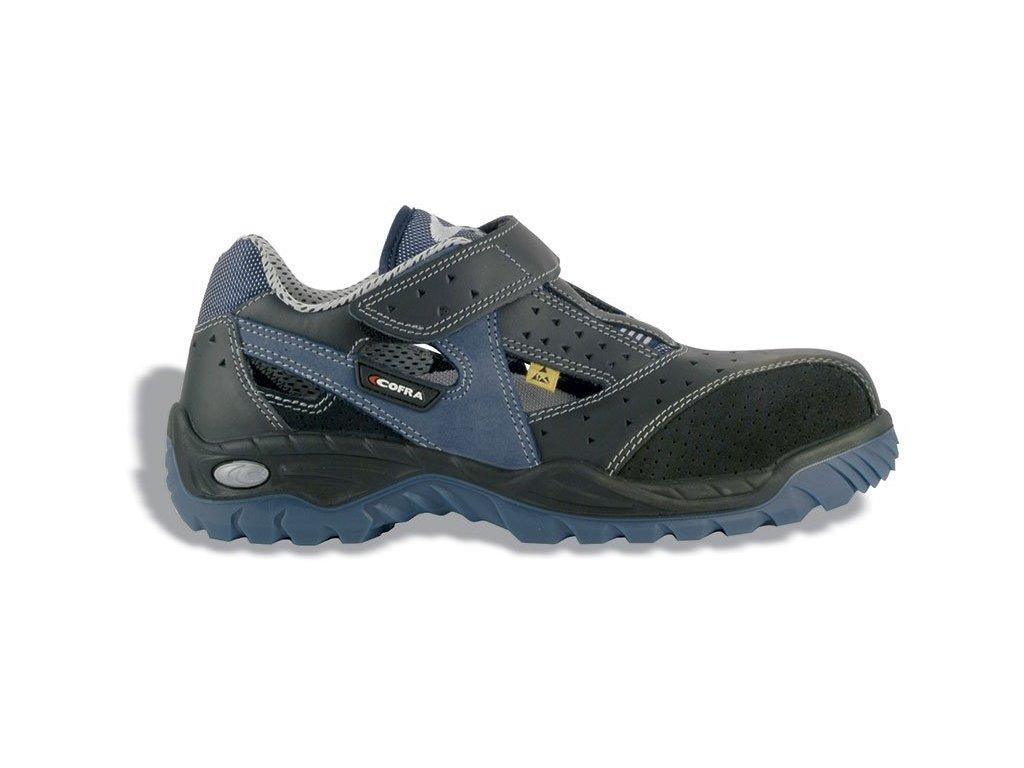 Nízká pracovní obuv COFRA JUNGLE S1P ESD SRC