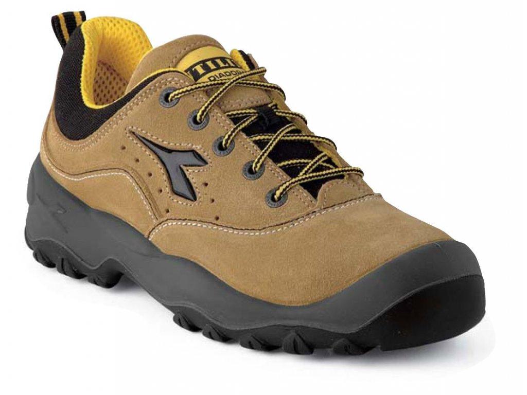 Nízká pracovní obuv  DIADORA GEMINI svršek: semišový vršek